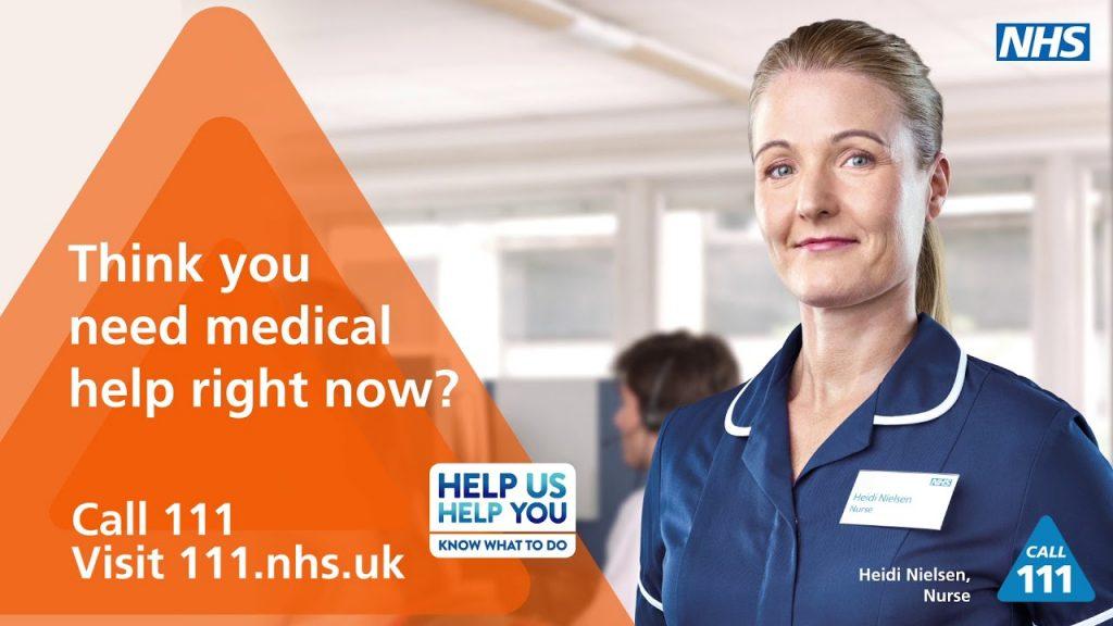 NHS 111 Helpline